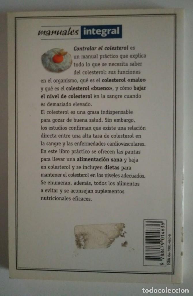Libros de segunda mano: CONTROLAR EL COLESTEROL Las dietas más efectivas y los consejos más prácticos- LIBROS DE COCINA - Foto 3 - 122175591