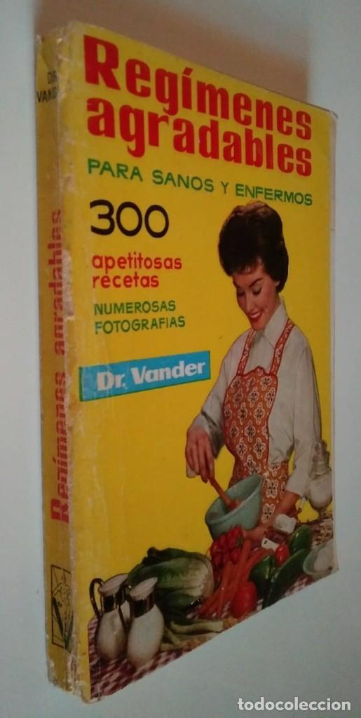 Libros de segunda mano: REGÍMENES AGRADABLES PARA SANOS Y ENFERMOS A. VANDER DEPOSITARIO AÑO 1976 - LIBROS DE COCINA R50 - Foto 2 - 122182683