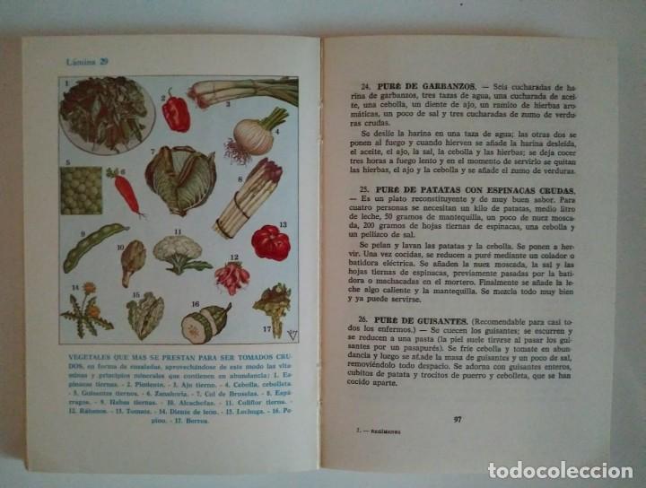 Libros de segunda mano: REGÍMENES AGRADABLES PARA SANOS Y ENFERMOS A. VANDER DEPOSITARIO AÑO 1976 - LIBROS DE COCINA R50 - Foto 6 - 122182683