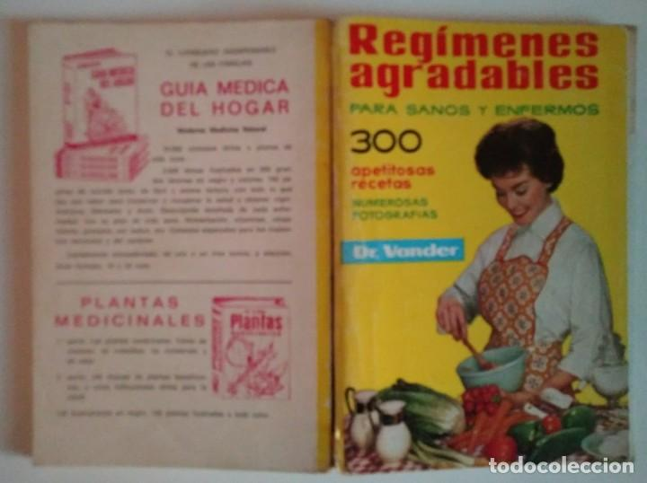 Libros de segunda mano: REGÍMENES AGRADABLES PARA SANOS Y ENFERMOS A. VANDER DEPOSITARIO AÑO 1976 - LIBROS DE COCINA R50 - Foto 8 - 122182683