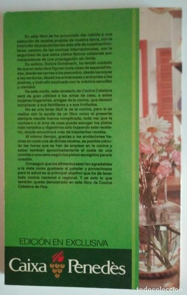 COCINA CATALANA DE HOY DOLORS DOMENECH EDITORS S.A. LIBROS DE COCINA - 122184803