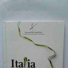 Libros de segunda mano: COCINA PAÍS POR PAÍS ITALIA. Lote 122971386