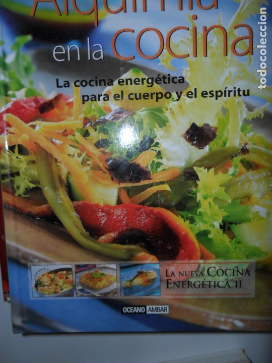 ALQUIMIA EN LA COCINA, LA NUEVA COCINA ENERGÉTICA II, MONTSE BRADFORD, ED. OCÉANO ÁMBAR (Libros de Segunda Mano - Cocina y Gastronomía)