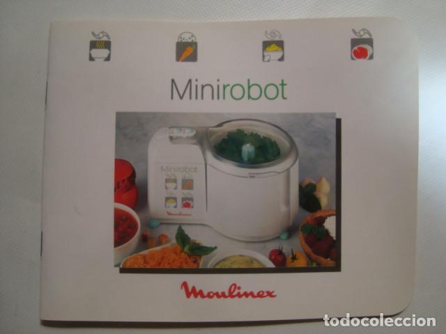 Minirobot Moulinex Recetas 24 Pag Muy Buen E Vendido En Venta