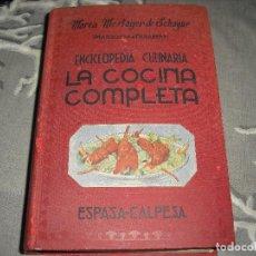 Gebrauchte Bücher - libro cocina LA COCINA COMPLETA ENCICLOPEDIA CULINARIA MARIA MESTAYER MARQUESA DE PARABERE - 124644763