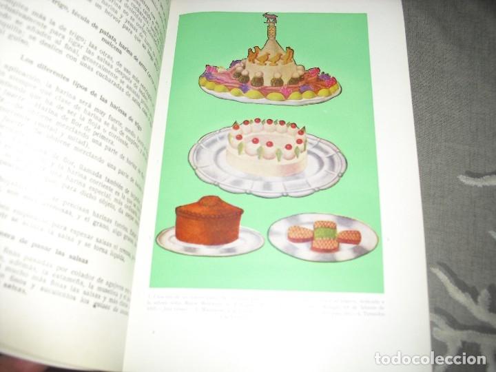 Libros de segunda mano: libro cocina LA COCINA COMPLETA ENCICLOPEDIA CULINARIA MARIA MESTAYER MARQUESA DE PARABERE - Foto 3 - 124644763