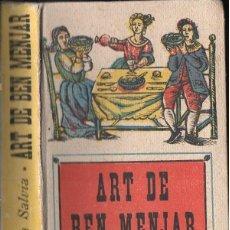 Libros de segunda mano: MARTA SALVIA : ART DE BEN MENJAR (DURAN I ALSINA, 1940). Lote 124715843