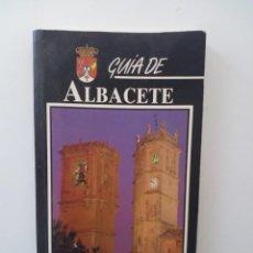 Libros de segunda mano: GUÍA DE ALBACETE. Lote 125396955