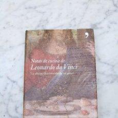 Libros de segunda mano - Notas de cocina de Leonardo da Vinci 2007 - 126001423