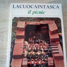 Libros de segunda mano: LA CUOCA IN TASCA - IL PICNIC - 1975. Lote 126434243