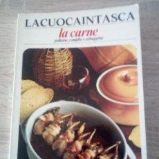 Libros de segunda mano: LA CUOCA IN TASCA - LA CARNE - POLLAME, CONIGLIO E SELVAGGINA - 1973. Lote 126434859