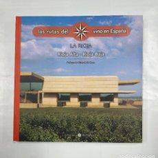 Libros de segunda mano: LAS RUTAS DEL VINO EN ESPAÑA. Nº 2. RIOJA ALTA. RIOJA BAJA. TDK235. Lote 126674939