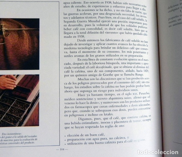 Libros de segunda mano: EL LIBRO DEL CAFÉ - PRECIOSO - NÉSTOR LUJÁN - HISTORIA ALIMENTO GASTRONOMÍA ESPAÑA EUROPA UTENSILIOS - Foto 9 - 127566635
