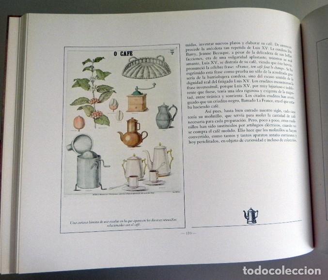 Libros de segunda mano: EL LIBRO DEL CAFÉ - PRECIOSO - NÉSTOR LUJÁN - HISTORIA ALIMENTO GASTRONOMÍA ESPAÑA EUROPA UTENSILIOS - Foto 8 - 127566635