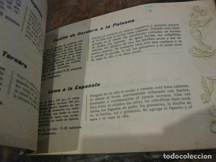 Libros de segunda mano: revista recetario recetas cocina super olla a presion hispano suiza . instrucciones - Foto 2 - 127677403