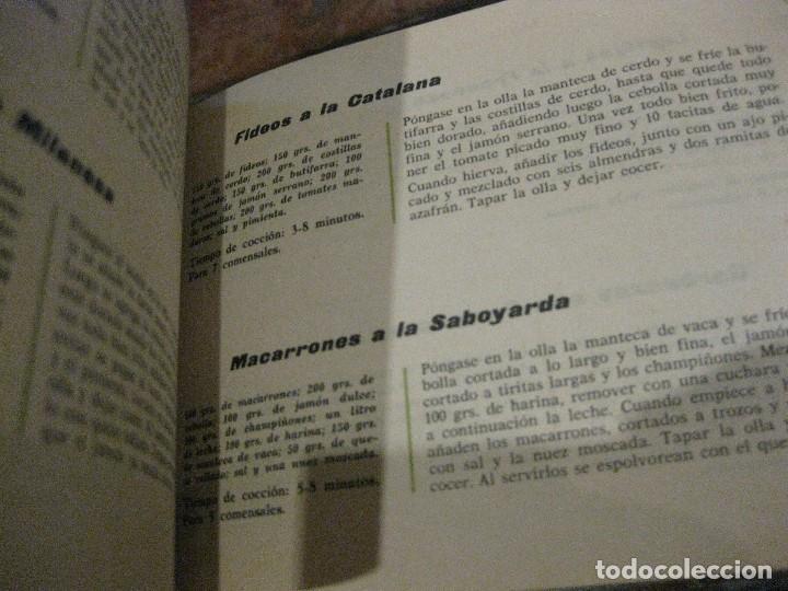 Libros de segunda mano: revista recetario recetas cocina super olla a presion hispano suiza . instrucciones - Foto 3 - 127677403