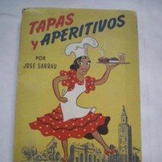 Libros de segunda mano: TAPAS Y APERITIVOS. Lote 127767995