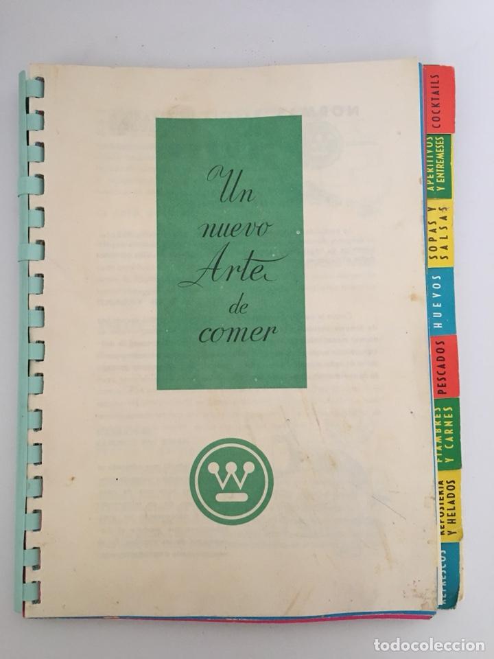 UN NUEVO ARTE DE COMER - LIBRO DE RECETAS DE COCINA - 1961 (Libros de Segunda Mano - Cocina y Gastronomía)