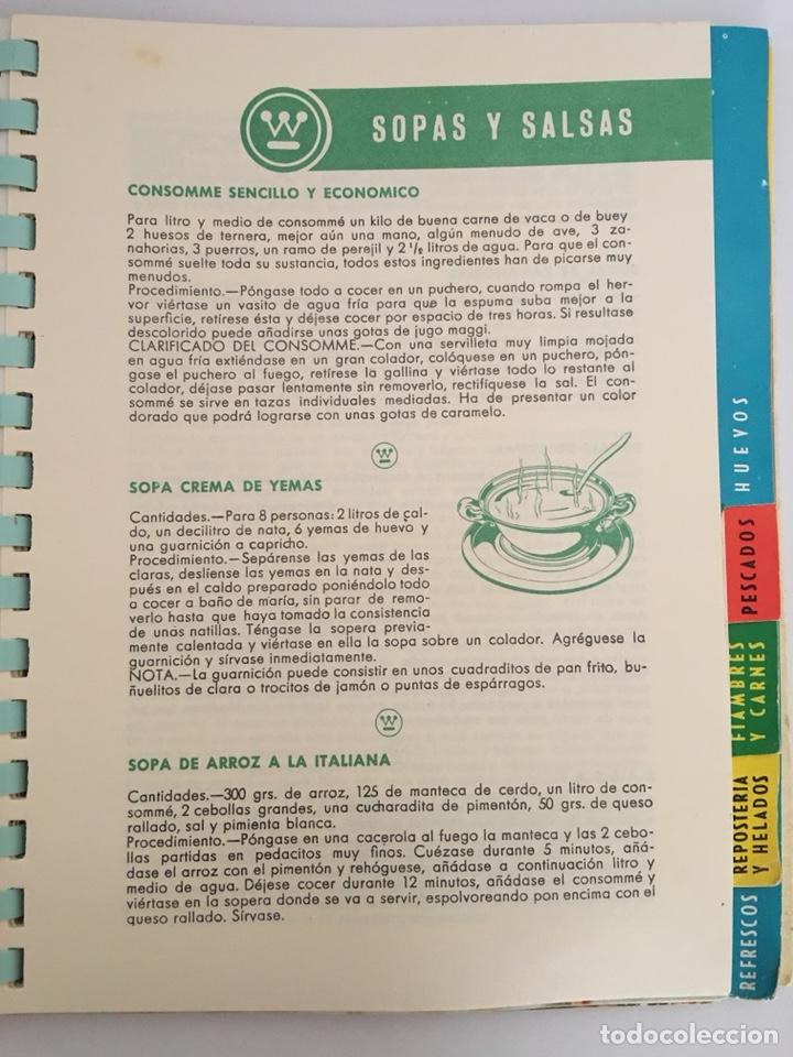 Libros de segunda mano: UN NUEVO ARTE DE COMER - LIBRO DE RECETAS DE COCINA - 1961 - Foto 4 - 127779090