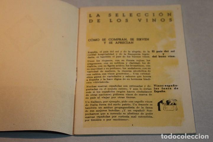 Libros de segunda mano: LA SELECCION DE LOS VINOS. COMO SE COMPRAN, SE SIRVEN Y SE APRECIAN / Veritas - Foto 5 - 128270375