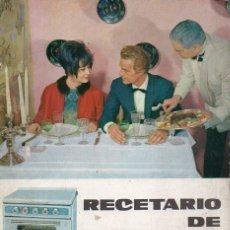 Libros de segunda mano: RECETARIO DE COCINA CORBERÓ - ILUSTRADO EN COLOR. Lote 128755715