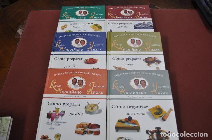 6 tomos cómo preparar , escuela de cocina y de - Kaufen Bücher über ...