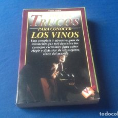 Libros de segunda mano: IDEAS Y TRUCOS PARA CONOCER LOS VINOS, VER FOTO. Lote 131148140
