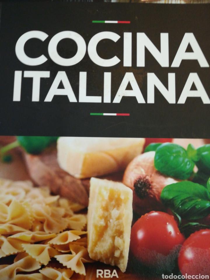 COCINA ITALIANA RBA (Libros de Segunda Mano - Cocina y Gastronomía)