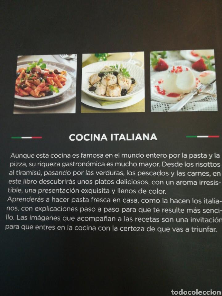 Libros de segunda mano: Cocina Italiana Rba - Foto 2 - 132027407