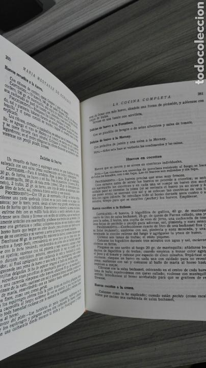 Libros de segunda mano: La cocina completa. Enciclopedia Culinaria. Maria Mestayer. Marquesa de Parabere. - Foto 2 - 132727119