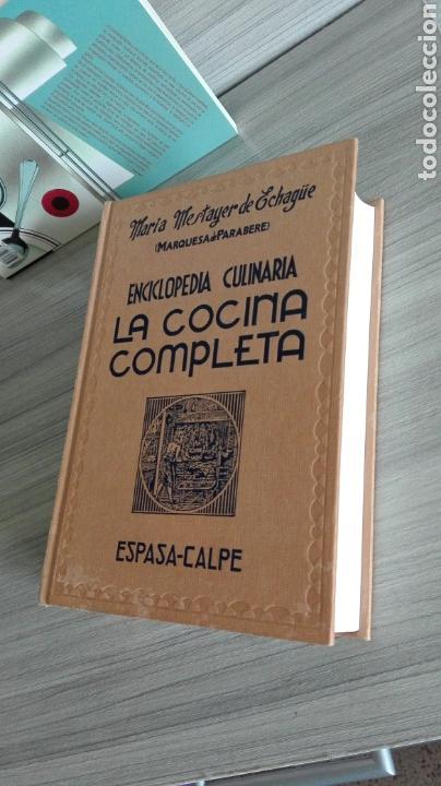 Libros de segunda mano: La cocina completa. Enciclopedia Culinaria. Maria Mestayer. Marquesa de Parabere. - Foto 3 - 132727119