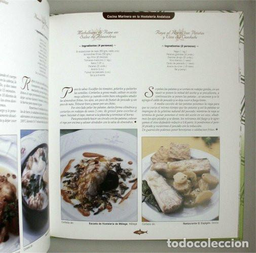Libros de segunda mano: Cocina marinera en la hostelería andaluza. Junta de Andalucía. Recetario - Foto 3 - 132823654