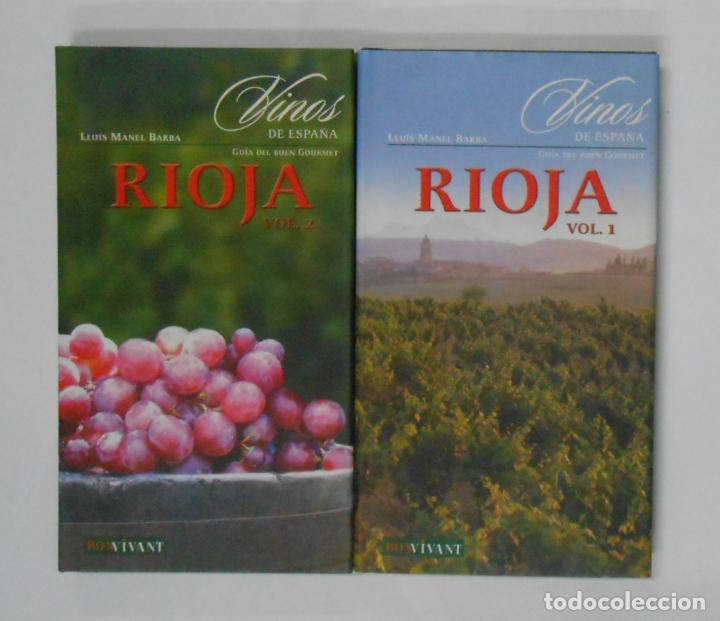 VINOS DE ESPAÑA. RIOJA. 2 TOMOS - BARBA, LLUÍS MANEL. TDK351 (Libros de Segunda Mano - Cocina y Gastronomía)