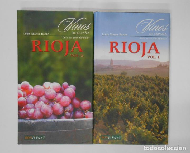 Libros de segunda mano: Vinos de España. Rioja. 2 Tomos - Barba, Lluís Manel. TDK351 - Foto 2 - 133243058