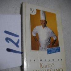 Libros de segunda mano - EL MENU DE KARLOS ARGUIÑANO - 133324998