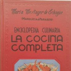 Libros de segunda mano: LA COCINA COMPLETA DE MARÍA MESTAYER. ESPASA CALPE 1963. Lote 133367882