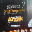 Libros de segunda mano: JUAN MARI ARZAK-ALTA COCINA INTERNACIONAL-GASTRONOMIA CON EL CHEF EN CASA-EDICION LIMITADA. Lote 133458246