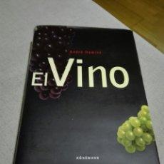 Libros de segunda mano: EL VINO. ANDRE DOMINE -EDITORIAL KONEMAN. PRIMERA EDICIÓN 2003 GRAN FORMATO. Lote 133684245