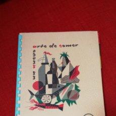 Libros de segunda mano: UN NUEVO ARTE DE COMER, CASA WESTINGHOUSE. FRIMOTOR, BILBAO, 1961. Lote 135021479