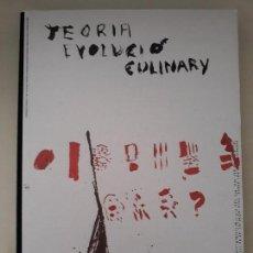 Libros de segunda mano: CÓMO EMPEZÓ LA COCINA. TEORÍA DE LA EVOLUCIÓN CULINARIA. EL BULLI. FERRAN ADRIÀ. CAIXABANK BARCELONA. Lote 202984657