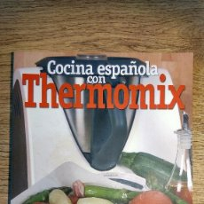 Libros de segunda mano: COCINA ESPAÑOLA CON THERMOMIX. Lote 135423422