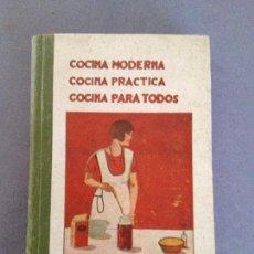 Libros de segunda mano: COCINA MODERNA COCINA PRACTICA COCINA PARA TODOS-1930. Lote 135426286