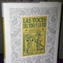 Libros de segunda mano: LAS VOCES DEL VINO Y LA VID.. Lote 136236182