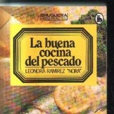 Libros de segunda mano: LA BUENA COCINA DEL PESCADO.A-COCINA-866. Lote 136885390