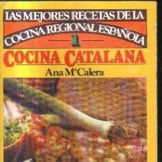 Libros de segunda mano: LAS MEJORES RECETAS. DE LA COCINA REGIONAL ESPAÑOLA. COCINA CATALANA. Nº 1. A-COCINA-875. Lote 136900442