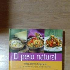 Libros de segunda mano: EL PESO NATURAL. MONTSE BRADFORD.. Lote 136956277