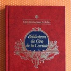Libros de segunda mano: ZALACAÍN (MADRID) Y EL BULLI (ROSAS). BIBLIOTECA DE ORO DE LA COCINA. 1985. 70 PÁGINAS. . Lote 137117730