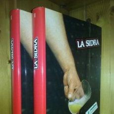 Libros de segunda mano - LA SIDRA, JOSE URIA IRASTORZA, SENDOA ARGITALDARIA,1987, ESTUDIO INFORME EL TXAKOLI, PAIS VASCO - 137210954
