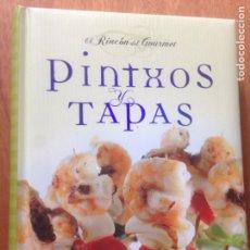 Libros de segunda mano: PINTXOS Y TAPAS. EL RINCON DEL GOURMET. Lote 138937068