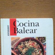 Libros de segunda mano: COCINA BALEAR. Lote 139097842